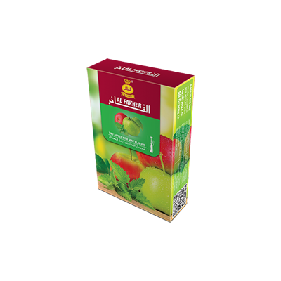 Shisha-bros-Al-Fakher-50g-Two-Apple-Mint